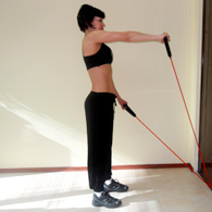 exercises with elastic